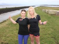 Anne Kelliher and Michelle Greaney  look forward to the Optimal Fitness 10 Miler in February. Photo by Dermot Crean