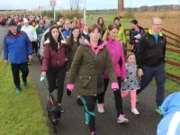 Setting off on the 'Operation Transformation' Walk from Tralee Bay Wetlands on Saturday morning. Photo by Dermot Crean