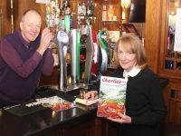 Tom and Eileen O'Shea are to leave Kerins O'Rahillys after over 30 years manning the bar. Photo by Dermot Crean
