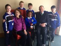 CBS Pupils Begin Weekly Visits To Fatima Nursing Home Residents