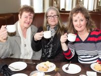 Helen McElligott, Rose O'Callaghan and Michelle McElligott at the Connect Kerry Coffee Morning in aid of ADAPT Kerry at the Ballyroe Heights Hotel on Wednesday morning. Photo by Dermot Crean