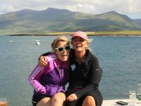 Debra Ireland supporters Sarah Clancy and Liz Collins are asking walkers to join them for this year's inspirational Kerry Challenge from May 18th to 20th, see www.debraireland.org for more information.