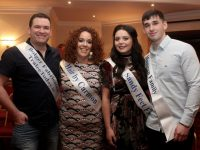Justin McCarthy, Carol Nyhan, Claire Goodall and Aidan Mangan  contestants in Kerins O'Rahillys GAA 'Strictly Club Dancing'. Photo by Dermot Crean