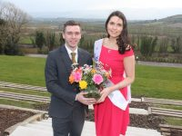 Jonathan Collins of Ballyroe Heights Hotel with Kerry Rose Breda O'Mahony launching the search for the Kerry Rose 2018. Photo by Dermot Crean