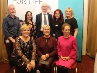 Guests and speaker at the Sam McCauley Health and Wellbeing evening at the Manor West Hotel on Thursday. Front from left; Mary Byrne, Dr Mary McCaffrey and Dr Corinne Evans. Back from left; Dr Louis Keary of the Bon Secours Hospital, Clair McEvoy, Brian Kearney, Tracey Stack and Christine Foley all from Sam McCauley's. Photo by Dermot Crean