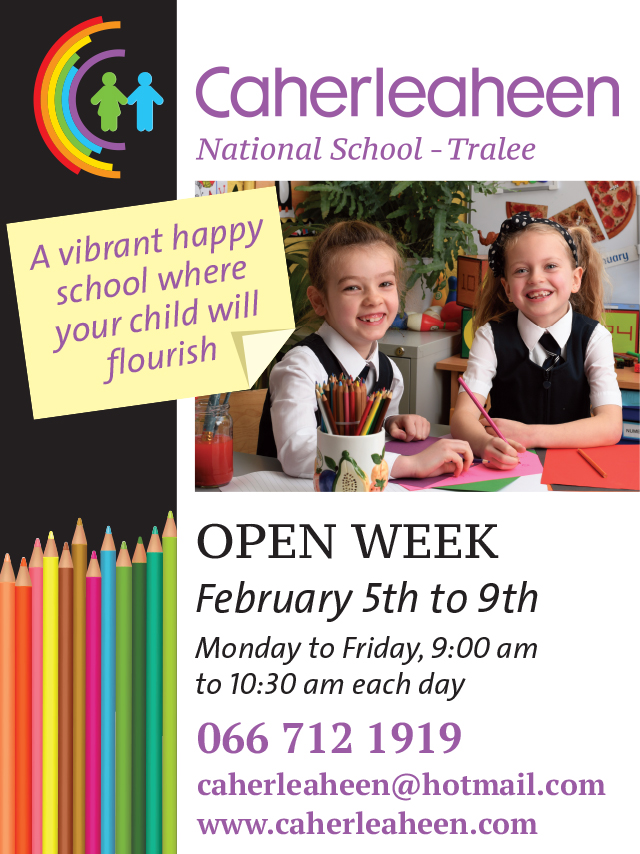 Caherleaheen NS Hosting Open Week To Show All School Has To Offer