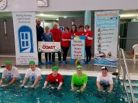 Organisers, sponsors and participants in the upcoming Ballybunion Leisure Centre 24 Hour Hydrobike event for charity later this month.