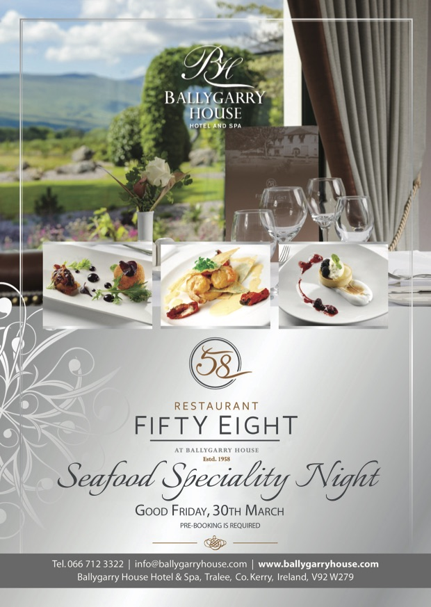 Ballygarry's Seafood Speciality Night Returns On Good Friday