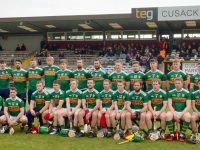 The Kerry panel before the Westmeath game. Photo by Mike O'Halloran