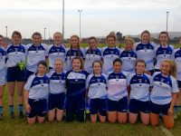 The IT Tralee Ladies Football team.