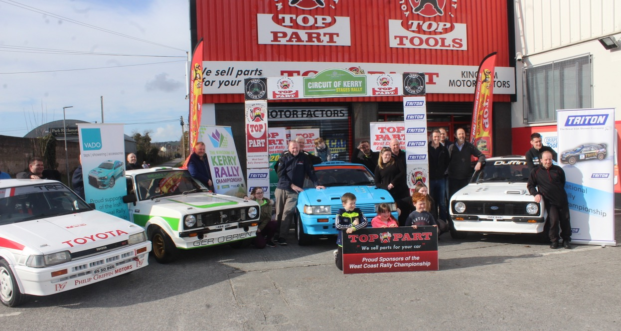 Circuit Of Kerry Rally To Thrill Motorsport Fans This Sunday - traleetoday.ie