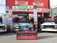 The launch of the Circuit of Kerry Rally was held at Top Part on Rock Street on Saturday.