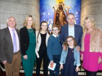 Ruairi O'Halloran who made his Confirmation at Our Lady and St Brendan's Church on Wednesday with Paddy O'Shea, Adrienne O'Halloran, Laura O'Halloran, Ger O'Halloran, Chloe O'Halloran and Stephanie O'Shea. Photo by Dermot