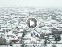 WATCH: Tralee From The Air Under A Blanket Of Snow