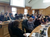 Attendees at a recent Kerry Film Film Bursary Development Seminar at Kerry County Council.