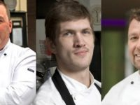 Martin Bealin, Eddie Attwell and Tom Flavin who will appear at the Taste Kerry event later this month at the ITT.