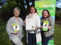Kerry Camino members Adrienne McLoughlin, Grace O'Donnell and Ingrid Boyle launching the event on Monday at The Meadowlands Hotel.