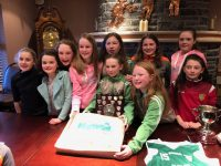 Bobcats u12 Division 1 County League Winners  Jill Quirke, Maire Culloty, Aoibheann Broderick, Laura Sugrue, Kate Collins, Rachel Creedon, Orla O'Connor, Rachel Griffin, Anna Collins and Aislinn Bailey