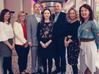 Eilish O Donoghue, Lisa O'Carroll, Victor Sheehan, Brid Bowler, Thomás Hayes, Fiona Leahy, Liz Maher at the GDPR Seminar in The Rose Hotel on Thursday. Photo by Tara Donoghue