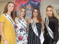 Kerry Rose contestants Celine O'Shea, Laura Bourke, Kayleigh Dewhurst and Breda Evans. Photo by Dermot Crean