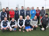 The two Dunnes Stores NCR teams which took part in the Turner's Bar Invitational Cup on Sunday. Photo by Dermot Crean
