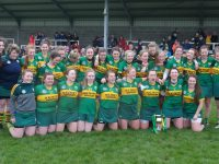 The victorious Kerry team. Photo by Mike O'Halloran