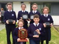 The Blennerville school team, winners of the County Final on Monday. Photo courtesy of Blennerville NS