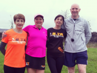 Just four of the Born To Run members who completed last year's Couch To 5k programme: Noreen Quirke, Catherine O'Connor, Rita Ryan and Anthony O'Connor.