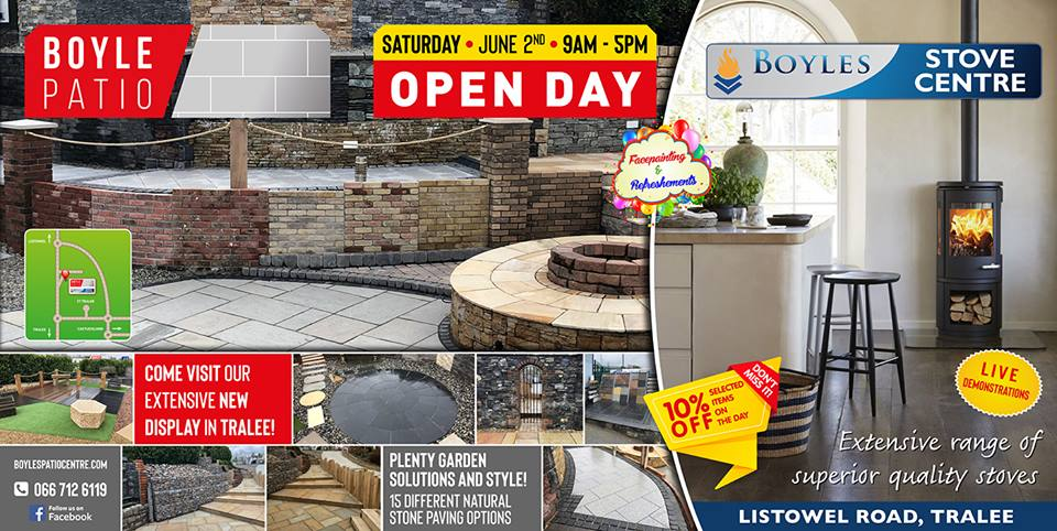 SPONSORED: Boyles Patio And Stove Centre To Hold Open Day This Saturday