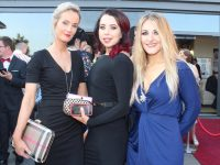 Stephanie Moroney, Carly Norris and Kathleen Powell at the Connect Kerry Women In Business Awards at the Ballyroe Heights Hotel on Friday evening. Photo by Dermot Crean