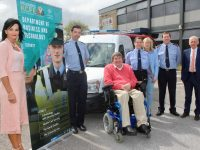 At the launch of the new programme was Principal of KCFE Mary Lucey, Garda Aidan O'Mahony, Chairperson of KCFE Cllr Terry O'Brien, Community Policing Sergeant Eileen O'Sullivan, Carmel Kelly KCFE,  Inspector Donal Ashe and the Kerry ETB CEO Colm McEvoy. Photo by Dermot Crean