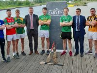 The team reps with Paudie Dineen, Jim Garvey and Chairman of county board Tim Murphy.  Photo by Mike O'Halloran
