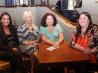 Shauna Shanahan, Amanda Whelan, Maureen Molyneaux and Natalie Canty at the table quiz in the Meadowlands Hotel on Friday night. Photo by Dermot Crean