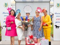 Winners Alright at the Listowel Races June Bank Holiday Meeting Ladies Day on Sunday 3rd of June from left Nadine Smith (1st runner up), judge and organiser Eilish Stack, winner of the Best Dressed Lady, Mary Woulfe, head judge Sinead O Brien and Claire Hilliard (2nd runner up). Photo: John Kelliher