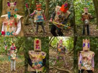 'The Lost Tribe of Collis Sandes Woods' – a sample of work created by the Teacher Artist Partnership Residency Programme by Tralee Educate Together National School