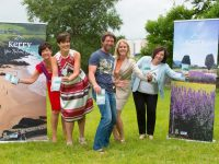 Pictured today, Mon 16th July at the launch of the new, user friendly Kerry Tourism Brochure by the Tourism Unit of Kerry County Council are from left Joan McCarthy, Head of Tourism, Kerry County Council, Cllr Norma Foley, Cathaoirleach, Kerry County Council, John Edwards, Wild Water Adventures, Fiona Monaghan, Head of Product Development, Fáilte Ireland and Moira Murrell, Chief Execeutive, Kerry County Council. Pic: Pauline Dennigan. No fee for repro.