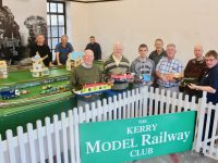 Members of Kerry Model Railway Club looking forward to the festival this weekend. At back; Denis Murphy, Harry Kelliher and Donal Coppinger. In front; Chris Dyer, Billy Nolan, Leon Kelliher, Liam Freeman, Billy Horgan, Edwin De Groot and Brendan O'Brien. Photo by Dermot Crean