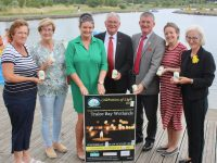 Launching the Celebration Of Light at Tralee Wetlands on Wednesday morning were Philomena Stack, Maureen O'Brien, Marisa Reidy and Dermot Crowley of Recovery Haven, Anthony O'Gara of Rose Of Tralee International Festival, Joanie McAuliffe of Tralee Bay Wetlands and Linda Lynch of Kerry Choral Union. Photo by Dermot Crean