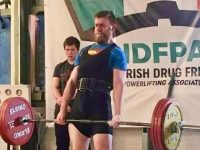Robert Powell who competes in the World Powerlifting Championships this autumn.
