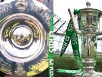 The Six Nations and Triple Crown trophies will be in Tralee on Saturday.