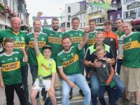A group from Tralee in Killarney for the Kerry v Kildare game on Saturday. Photo by Dermot Crean