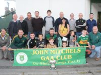 Club officers and supporters at the John Mitchels GAA Night At The Dogs on Friday night. Photo by Dermot Crean