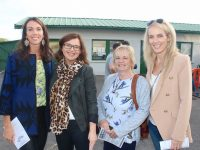 Linda O'Callaghan, Aisling Foley, Aileen Healy and Paula Foley at the John Mitchels GAA Night At The Dogs on Friday night. Photo by Dermot Crean