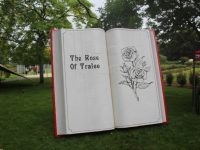 The book of roses in the Town Park.
