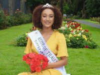 Rose of Tralee 2018, Kirsten Mate Maher in the Town Park on Wednesday morning. Photo by Dermot Crean