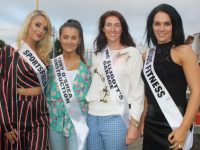 Contestants Rachel Quirke, Chantelle O'Sullivan, Sinead Kennedy and Sarah O'Connell. Photo by Dermot Crean