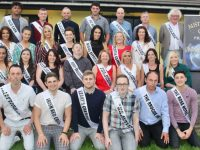 The 14 couples who are contestants in the eighth Austin Stacks GAA 'Strictly Come Dancing'. Photo by Dermot Crean