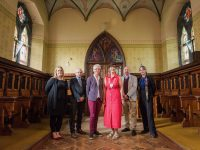 Kerry's architectural heritage will be the focus of the inaugural Architecture Kerry festival which takes place from the 28th to 30th September. The event will feature talks, free guided tours, exhibitions, workshops and family events all around the county. Pictured at the launch in Ballonagh Convent Chapel are from left Barbara Carey, Carey Architects, Mike Scannell, Director of Services, Kerry County Council, Victoria McCarthy, Architectural Conservation Officer, Kerry County Council, Norma Foley, Cathaoirleach, Kerry County Council, Cormac Kane, Kane Williams Architects and Kate Kennelly, Creative Ireland Coordinator in Kerry. Pic: Pauline Dennigan