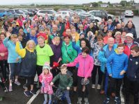 Participants at the Tony O'Donoghue Memorial Walk on Saturday from Blennerville Windmill. Photo by Dermot Crean