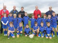 The Ballymac U8 team with coaches John Moriarty, Neilus O'Connor, Franic Hobbert, Maurice Brosnan and Thomas Lyons at the John Mitchels blitz on Saturday morning. Photo by Dermot Crean